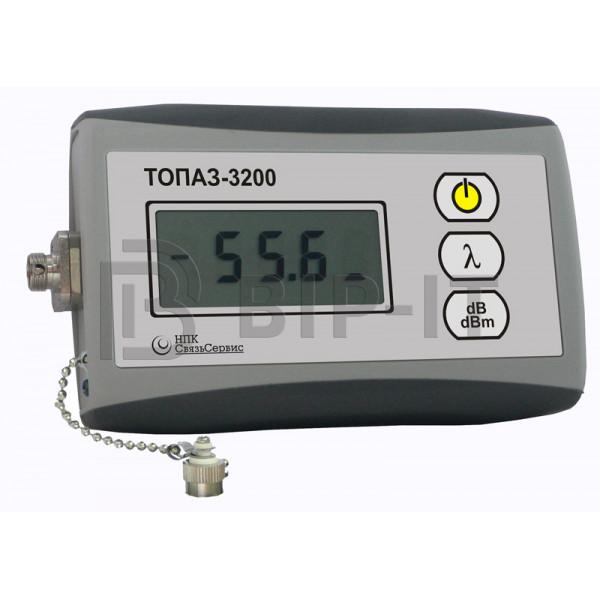 Индикатор оптической мощности ТОПАЗ-3220 (850, 1310, 1490, 1550, 1625 нм / -45..+20 дБм)