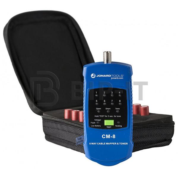 Jonard CM-8 - кабельный тестер для коаксиального кабеля с идентификаторами