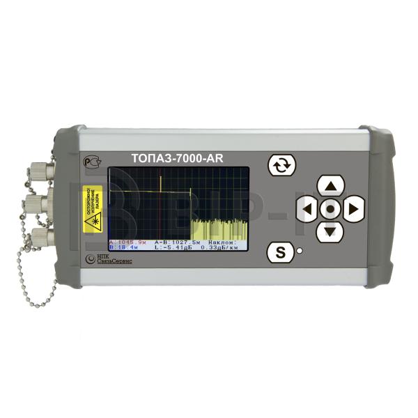 Многофункциональный оптический тестер - рефлектометр ТОПАЗ-7317-ARX (850/1310/1550 нм)