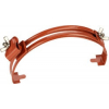 GALMAR Зажим на конек для крепления токоотвода (высота до 15 мм; оцинк. сталь с покраской)