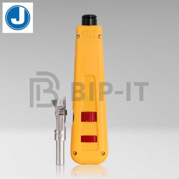 Jonard EPD-9Krone - ударный инструмент для расшивки кабеля на кросс с лезвием Krone (с ножницами)