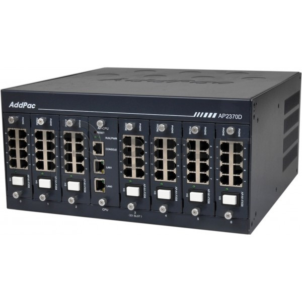AP2370-56(O) Шлюз VoIP, 56 FXO, 2x10/100/1000T Eth