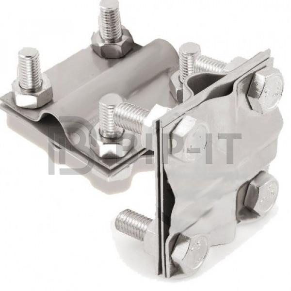GALMAR Зажим крестообразный для подключения проводника (D17; пол. <36мм, кр. <78мм2; нержавеющая сталь)