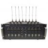 AddPac AP-GS3500, базовое шасси с портами 2x10/100Mbps Ethernet (SIP & H.323), 8 слотов, расширение до 32 GSMканалов, резервное питание