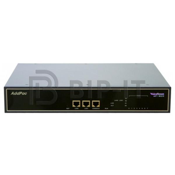 AP1800 Шасси на 2 слота расширения (до 16 аналоговых портов или 2 E1), 2x100TX Eth