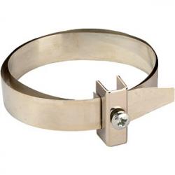 GALMAR Зажим на водосточную трубу для токоотвода (D50-350; луженная медь + луженная латунь)
