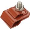 GALMAR Зажим на водосточный желоб для токоотвода (оцинк. сталь с покраской)