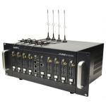 AP-GS3000, базовое шасси с портами 2x10/100Mbps Ethernet (SIP & H.323), 8 слотов, расширение до 32 GSM каналов