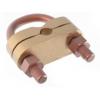 GALMAR Зажим дугообразный для подключения круглого проводника (D17, кр. =70-150 мм2, бронза)