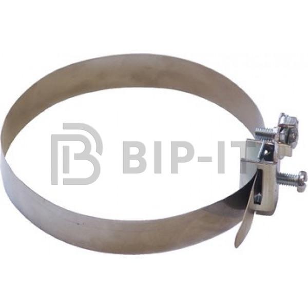Хомут для заземления труб Ø 10 - 114 мм, с клеммой до 16 мм