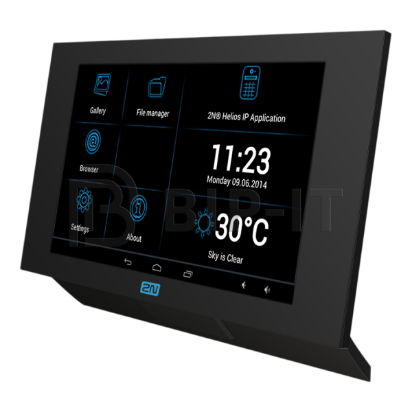 "2N Indoor Touch PoE, 7"" SIP- тачпанель для IP домофонов, динамик, микрофон, слот для SD  карты, PoE. ОС Android 4.2."