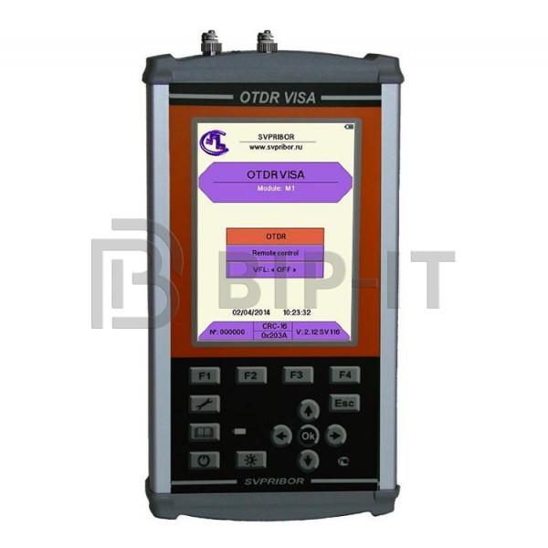 Оптический рефлектометр OTDR VISA 1310/1490/1550 с оптическим модулем M1