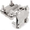 GALMAR Зажим крестообразный для соединения двух проводников (пол. <40мм, кр. 28-78мм2; нержавеющая сталь)