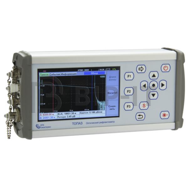 Универсальный оптический рефлектометр ТОПАЗ-9400-A-31-55-PMH (1310/1550 нм / -60..+20 дБм)