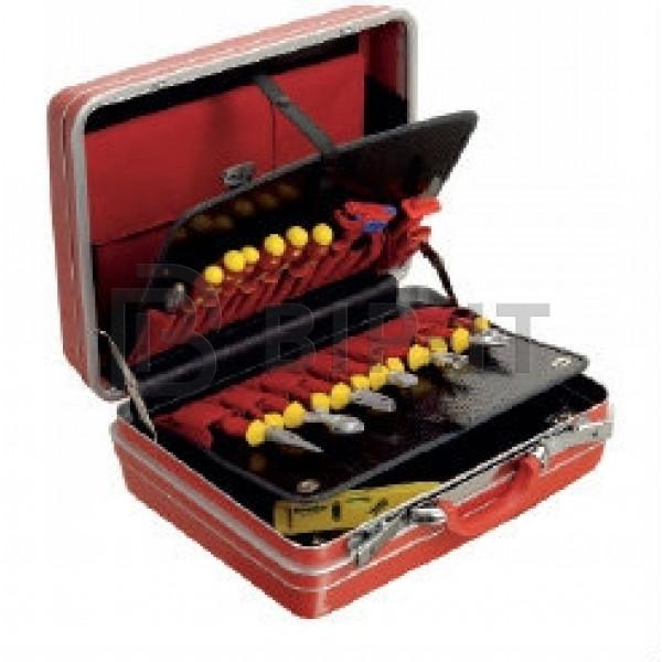 Набор из 26 инструментов в чемодане VDE DIN EN 60901