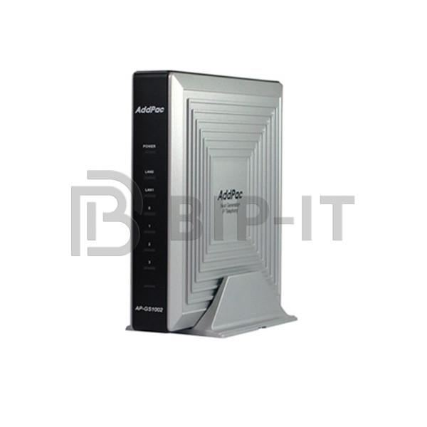 AP-GS1002C - VoIP-GSM шлюз, 2 GSM канала, SIP & H.323, CallBack, SMS. Порты 2хFXO, Ethernet 2x10/100 Mbps