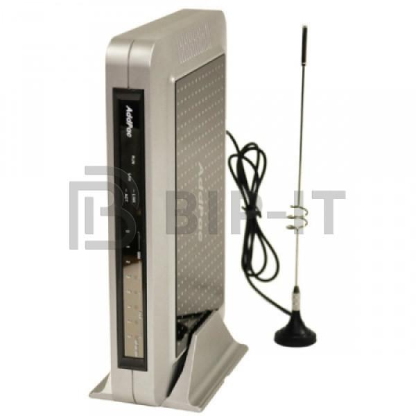 AP-GS1004B - VoIP-GSM шлюз, 4 GSM канала, SIP & H.323, CallBack, SMS. Порты 4хFXS, Ethernet 2x10/100 Mbps