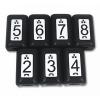 Softing (Psiber) TT208 - Набор идентификаторов схемы сети с номерами (№ 2-8) для тестеров Softing (Psiber), 7шт