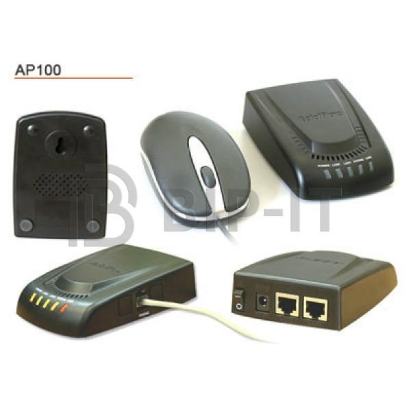 ADD-AP100 (1 FXS,  2x 10/100 Fast Ethernet), шлюз
